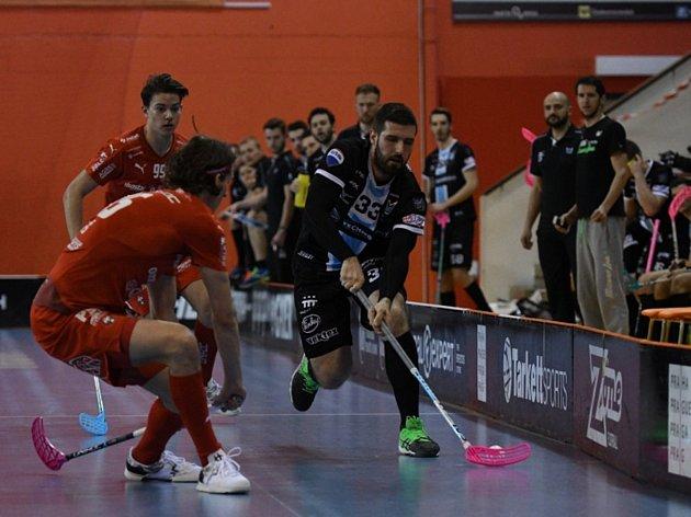 Florbal, 4. zápas semifinále Superligy: Střešovice - Technology MB.