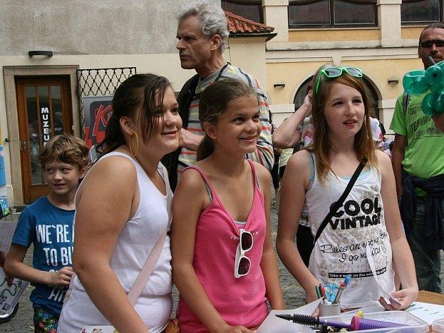 Charitativní dětský den na boleslavském hradě