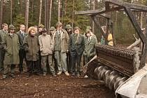 Bělá pod Bezdězem hostila studenty z lesnické školy ve Šluknově.