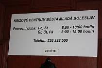 Krizové centrum v Mladé Boleslavi startuje svou činnost.