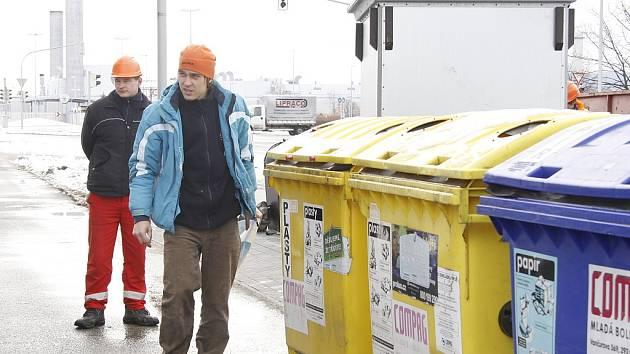 Kontejnery na tříděný odpad - ilustrační foto