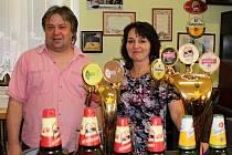 O hosty se stará Roman Šubr a Milada Svobodová.
