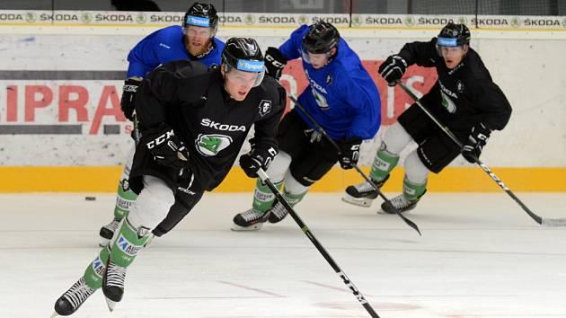 Hokejisté BK Mladá Boleslav na ledě