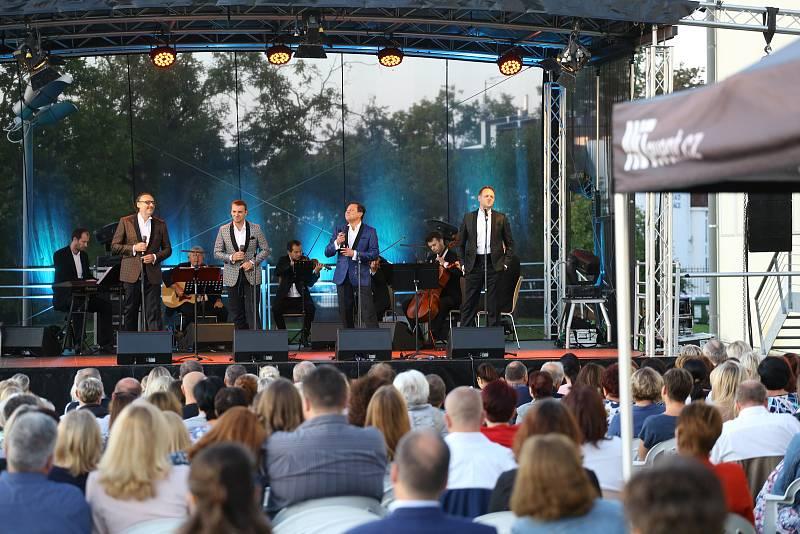 Koncert čtyř tenorů v Mladé Boleslavi.