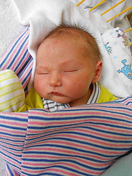Ríša Antl přišel na svět 23. září s mírami 3,7 kg a 48 cm. S maminkou Kateřinou a tatínkem Liborem bude bydlet v Mladé Boleslavi.
