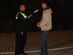 Cyklista pod vlivem alkoholu chtěl ujet městským strážníkům