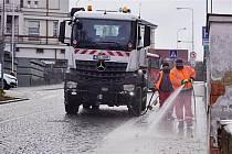 Jarní očista města je v Mladé Boleslavi v plném proudu. Začala v pondělí 8. března a potrvá až do 25. května.