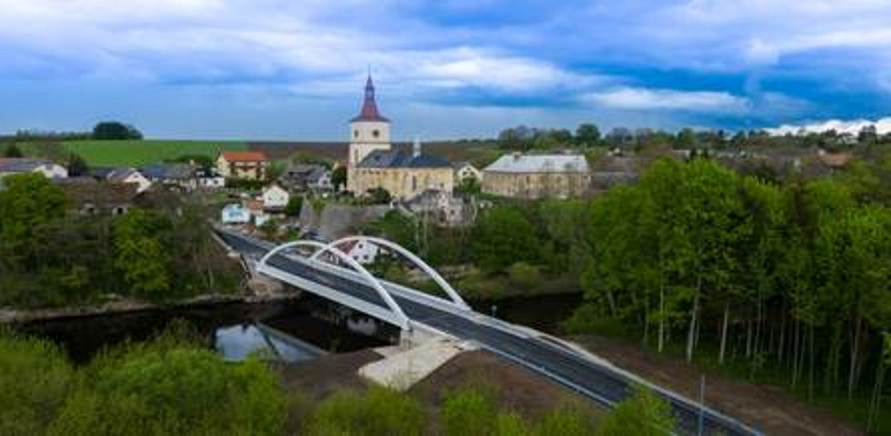 Nový most u Loukova.