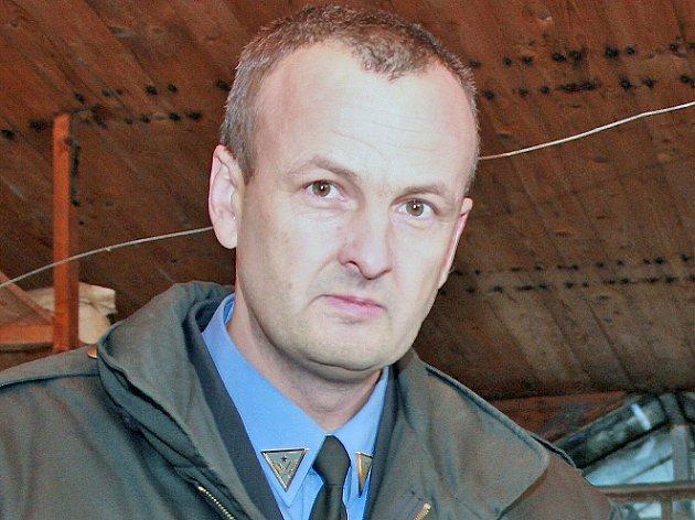 Bývalý ředitel Městské policie Mladá Boleslav Jaromír Pumr.