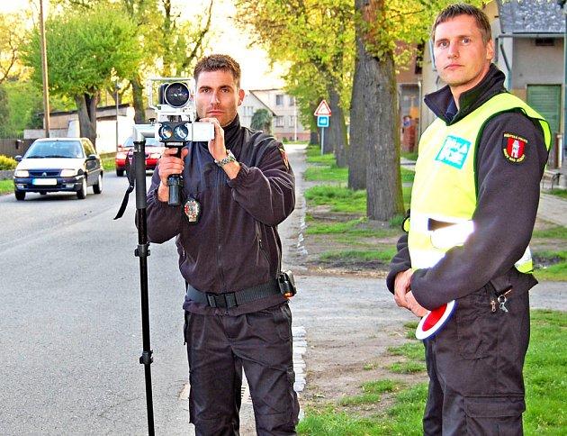 Na dodržování nejvyšší povolené rychlosti se zaměřili strážníci také v Budě.