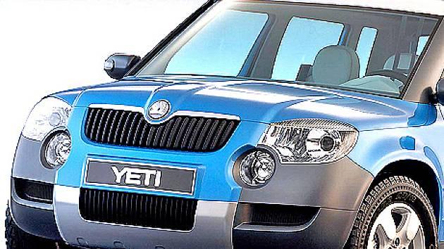 Od představení studie vozu Yeti se design auta jistě změnil.