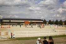 Na farmě Ptýrov u Mnichova Hradiště se konaly Jezdecké hobby závody.
