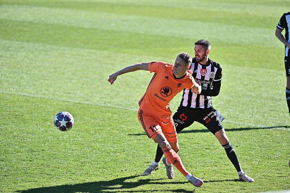 České Budějovice podlehly Mladé Boleslavi 1:3. Dva góly inkasovali Jihočeši až v nastaveném čase.