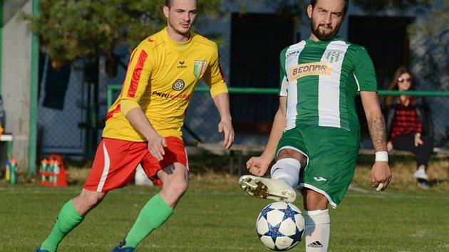 Fotbalová I. A třída: Pěčice - Rejšice.
