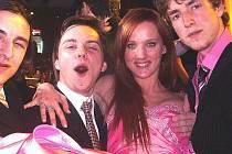 Tereza Šolcová s přáteli a fanoušky