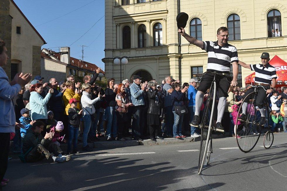 Svatováclavská jízda.