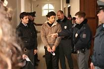 Soud s pachateli, obviněnými ze sedmi přepadení heren