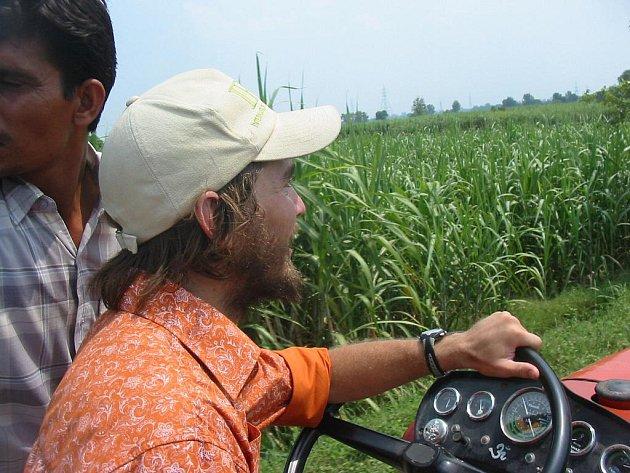 Traktorista. Ilustrační foto