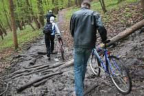 Některé úseky budoucí cyklostezky budou muset vést jinudy