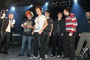 3. místo v kategorii kapela roku získala skupina Kočky neberem.