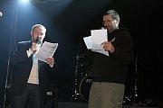 Vítěze Otíků vyhlásil počítačový odborník Viktor Janeba.