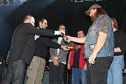 2. místo v kategorii kapela roku obsadila skupina Fullhouse.