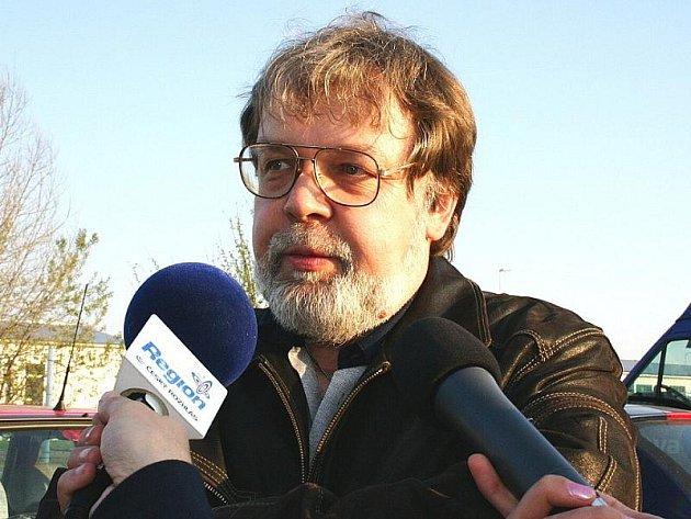 Předseda odborů KOVO ve Škodě Auto Jaroslav Povšík.