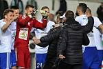 TAKTO fotbalisté Boleslavi v úterý slavili postup do semifinále MOL Cupu. Vydrží jim dobrá nálada také po utkání na Dukle?