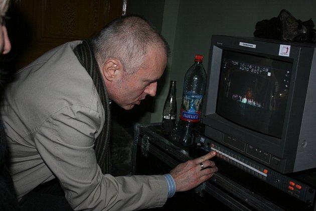 Dramaturg České televize Ondřej Šrámek.