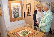 Loreta hostí třetí výstavu.