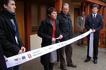 Slavnostní otevření volnočasového areálu v Bakově.