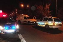 Ujíždějící řidič byl policisty zastaven na třídě V. Klementa v Mladé Boleslavi.