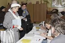Prezidentské volby v Mladé Boleslav, okrsek č.2