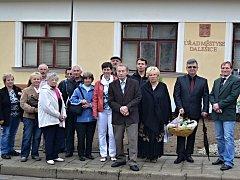 Zástupci českých a polských Dalešic se sešli už vloni u Třebíče.
