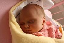 Kristýnka Kyjovská se narodila 10. června. Po porodu vážila 2,6 kg a měřila 48 cm. Domů z porodnice si ji odvezou rodiče Petra aVladimír z Mladé Boleslavi. Na Kristýnku se už těši její bráška Alexandr.