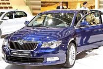 Nová Škoda Superb se představila na autosalonu v Ženevě.