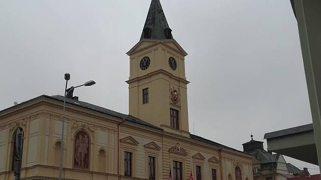 Radnice v Mnichově Hradišti.