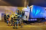 Provoz na Pražském okruhu ochromila tragédie v tunelu