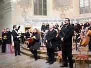 Výroční koncert se konal ve Sboru českých bratří v Mladé Boleslavi.