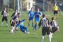 Čejetičtí fotbalisté vybojovali s Mnichovohradišťským SK první jarní bod.