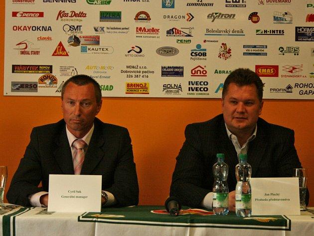 Cyril Suk a Jan Plachý