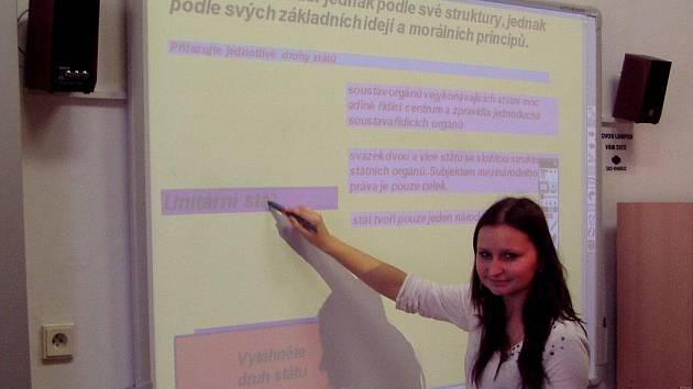 Výuka na Gymnáziu Dr. J. Pekaře Mladá Boleslav