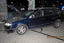 Nehoda v Mladé Boleslavi.
