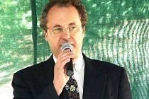 Organizátor festivalu, Václav Hlaváček.
