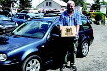 Diesel Auto Junek dělá radost i pivem Rohozec