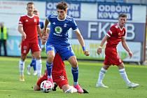 Fotbalisté Mladé Boleslavi vyřadili v Mol cupu Vyšehrad, domácí zápas vyhráli 3:0.