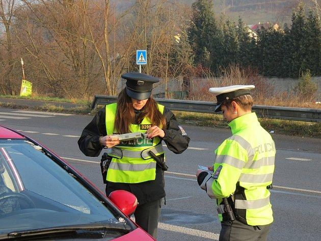 Policisté kontrolovali řidiče na Mladoboleslavsku.
