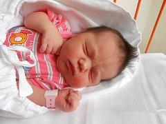 ANNA Mikešová se narodila 27. července, vážila 4,05 kg a měřila 51 cm. Maminka Dagmar a tatínek Tomáš si ji odvezou domů do Kosmonos, kde už se na ni těší bráška Tomášek.