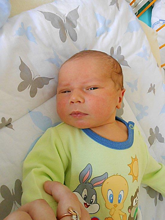 Alexandr Stejskal se narodil 4. května, vážil 3,98 kg a měřil 50 cm. Maminka Álla a tatínek Alexandr si ho odvezou domů do Bělé pod Bezdězem.