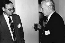 Zdeněk Sekanina (vpravo).